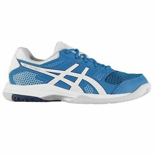 asics blue trainers