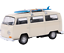 1-34-Welly-COCHE-MODELO-034-VW-Autobus-T2-Modelo-Tabla-De-Surf-034-metal-de-color-beige-5-anos miniatura 2