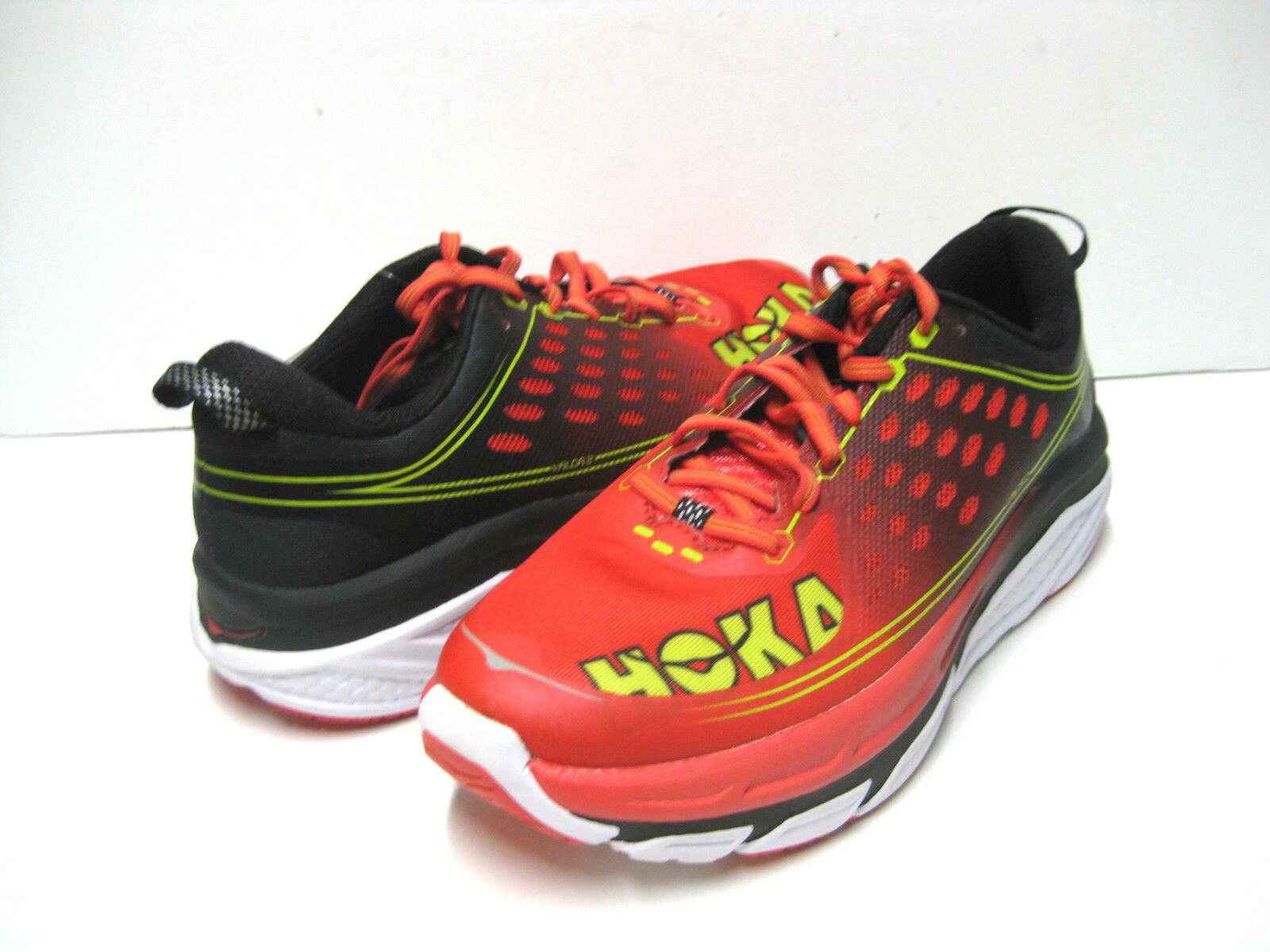 HOKA ONE ONE VALOR 2 MEN SPORT RED/BLACK US 9 ///3 /JP 27