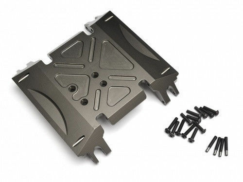 Axial Wraith 90018 90020 90031 Aluminum Alloy Center GearBox Base Skid Plate