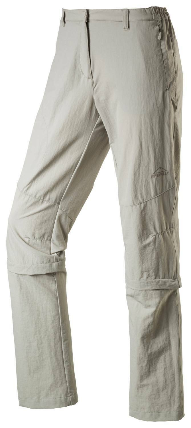 McKinley womens Hiking trousers Abzipphose Mendoran II grey