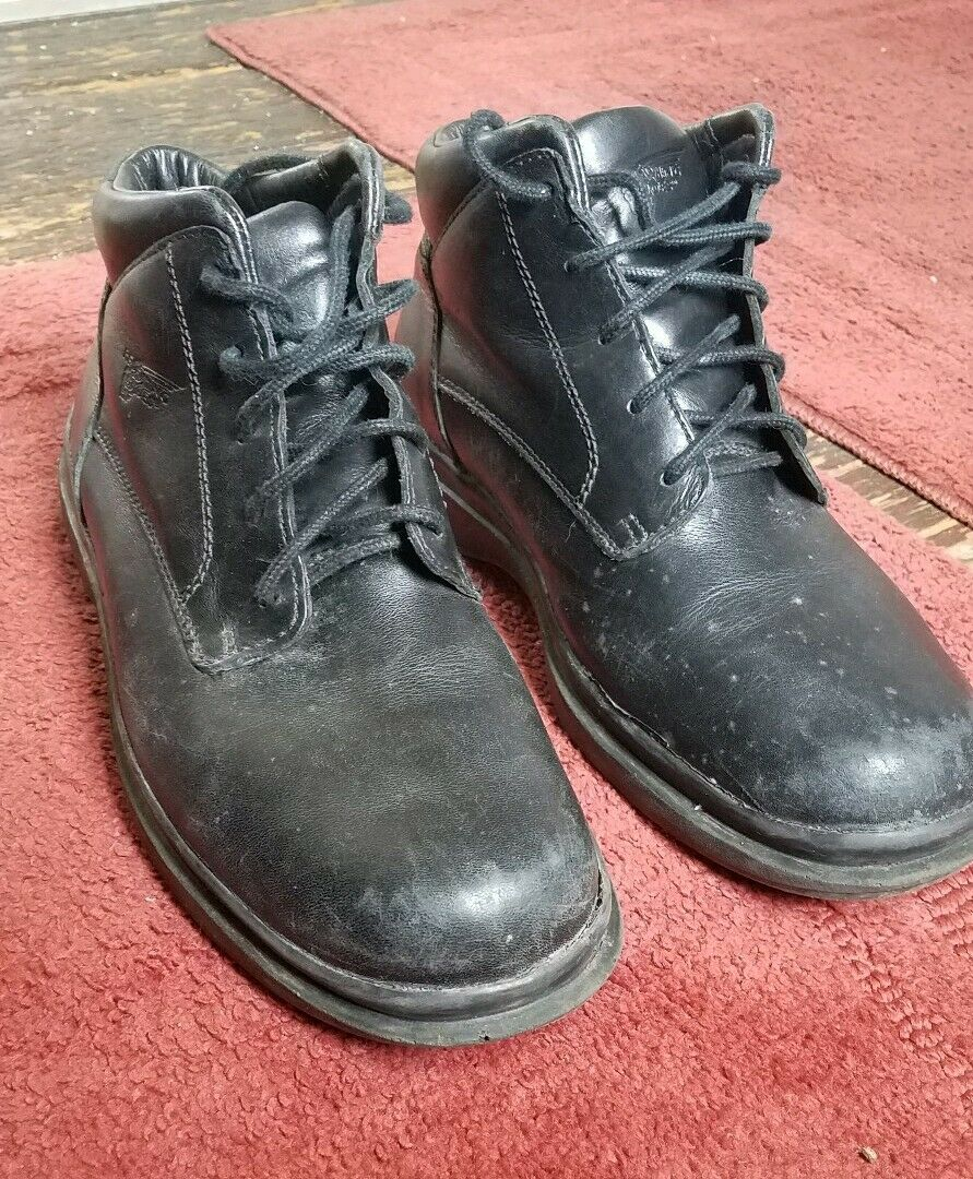 RED WING Black Moc Soft Toe Boots Low Ankle 8661 US Size 9.5 D Waterproof
