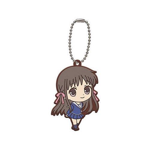 Fruits Basket Tohru Honda Gashapon Rubber Key Chain Anime NEW