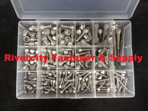METRIC 18-8 STAINLESS SOCKET ALLEN HEAD CAP SCREW KIT