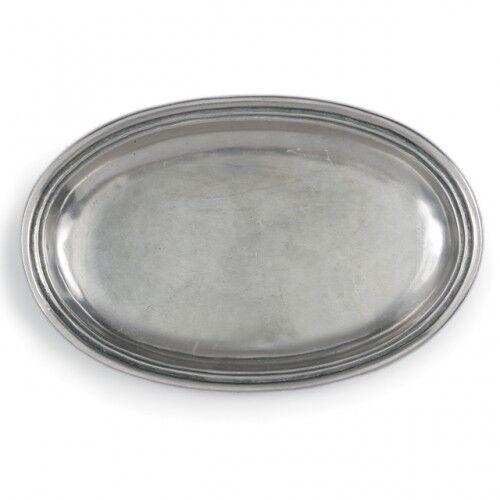 Arte Italica Roma Peltro Small Oval Dish - Set of 2