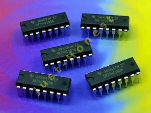 Stk-5-x-74HC595-mit-ohne-DIP16-Sockel-Socket-8-BIT-SHIFT-REGISTER-IC