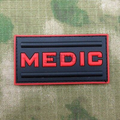 Call of duty  Military Tactical Medic Morale 3D PVC Velcro Patch Badges