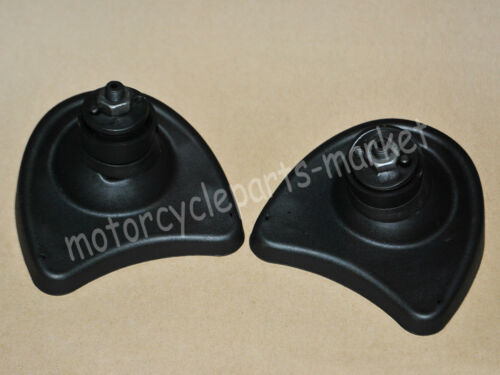 Black Front Batwing Fairing Mount Mirror For Harley Electra Street Glide 96-13