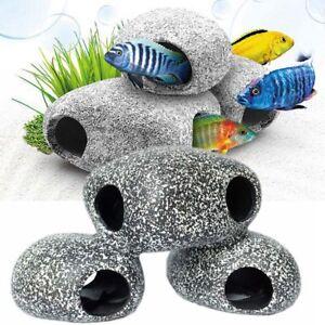 Cichlid-Stone-Aquarium-Ceramic-Rock-Cave-Decoration-For-Fish-Tank-Accessories