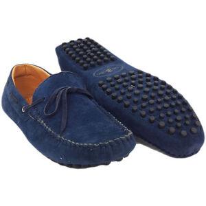 HERREN LEDER SLIP On lässigen eleganten Italienische Schuhe