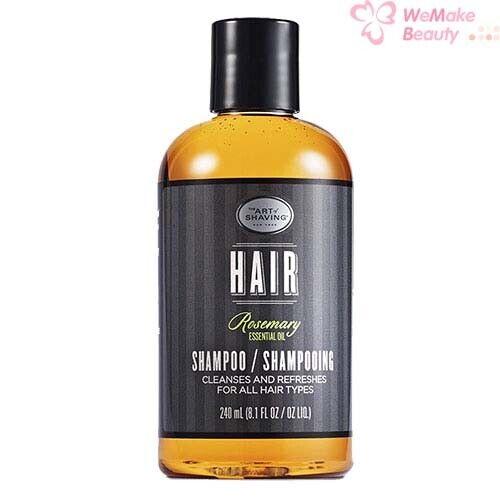 The Art of Shaving Hair Shampoo Rosemary Essential Oil 8.1oz / 240ml New In Box