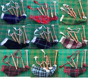 Junior Playable Bagpipes,Child Bagpipe /Kids Toy Bagpipe Different Tartans
