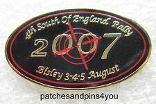 Harley Davidson HOG Bisley SOFER 2007 Pin NEW!! FREE U.K. POSTAGE!