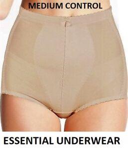 Tummy Tuck Bum Lift Medium Control Slimming Shapewear Panty Girdle Knickers Ebay