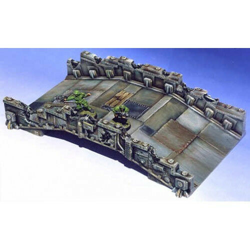 Armorcast 28mm ACBR005 Tech Bridge Resin Osprey Scrappers Post Apocalyptic Kit