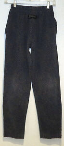 vtg-Zubaz-NAVY-ORANGE-TEAL-SCALES-MC-Hammer-Pants-KIDS-LARGE-muscle-baggy-80s