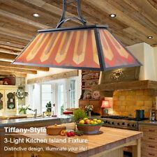 3 Lights Pool Table Light Linear Island Vintage Industrial Pendant Lamp Fixture For Sale Online Ebay