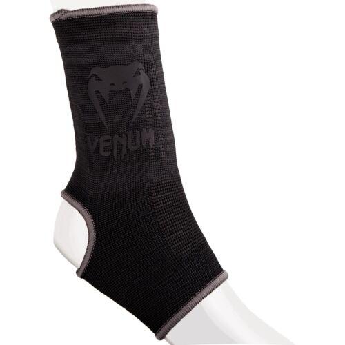 Venum Fussbandagen Black//Black Knöchelschoner Ankle Supports MMA BJJ Kampfsport