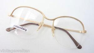 M Optiker Brillenfassung Brille Damen Gestell Vintage Extragroß Von Metzler 70er Gr Brillen