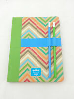 Hallmark 160 Pages R$14.95 7 X 9 Journal & Pencil Set Soj7526 Bound Ruled Pages