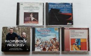 J. Moser, A. Korobeinikov - SACD/Rachmaninow, Prokofiev, Tschaikowsky/Cds/...