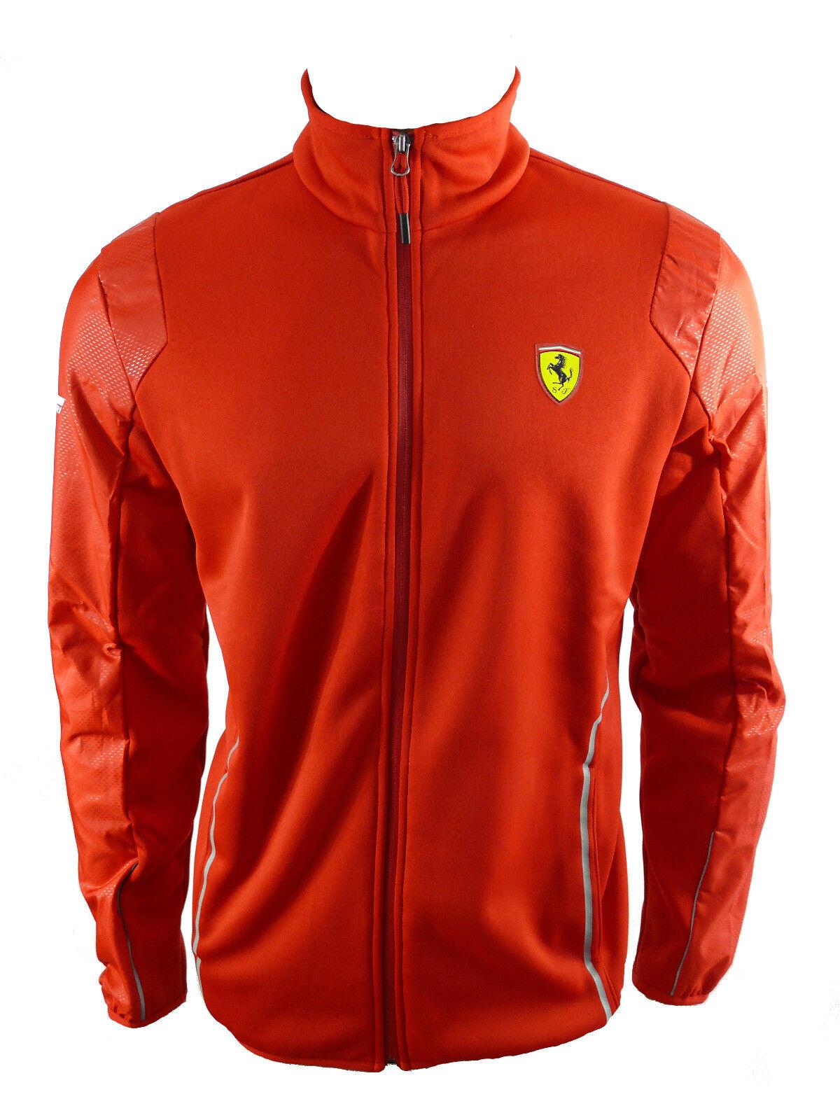 Puma Ferrari Softshell Jacket Sweater Jacket Red F1 Sz. XXL