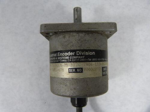 BEI H25D-SS-9000-M5-ABZC-7406-LED-ECS18 Incremental Encoder  USED