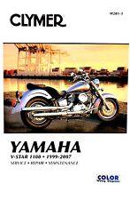 Yamaha V-Star 1100 1999-2007 Clymer Shop / Repair Manual