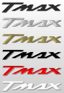 Oro 2 Adhesivos//Stickers 3D Letras Xmax Compatible para Scooter Yamaha X MAX de 2010
