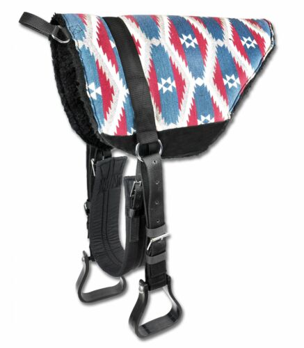 Reitkissen Sitzpad mit Griff für VB//WB komplett m Bügel Bare-Back-Pad Gurt