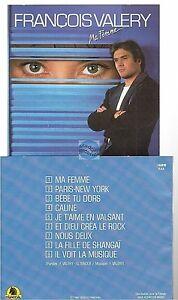 FRANCOIS-VALERY-ma-femme-CD-ALBUM-1986