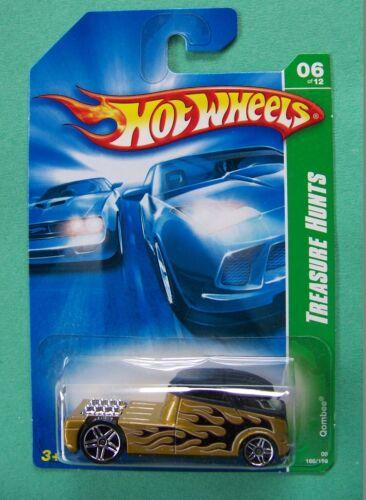 2008 Hot Wheels Treasure Hunt Reg /& Super Qombee #166 Choice Lot