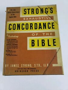 Details about Strong's Exhaustive Concordance Of The Bible 1967