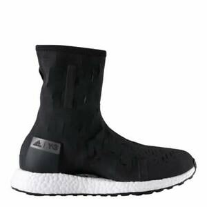 the best attitude 8fb4f 4d959 Details about ADIDAS Y-3 Black Y-3 Sport Approach Ultra Boost High Sock  Boots
