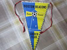 BOSTON Beacons Early USA Soccer Club circa 1960's FOOTBALL Pennant