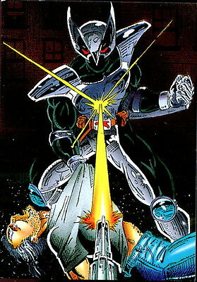 SHADOWHAWK 1992 COMIC IMAGES PROMO CARD NO NUMBER