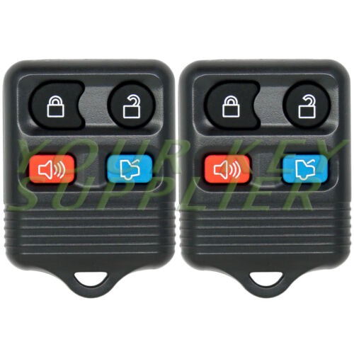 2 New Replacement Keyless Entry Remote Key Fob for Ford Focus Escape Explorer