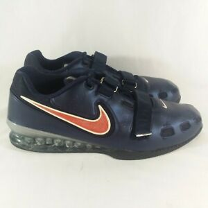 """Nike """"romaleos 2' Haltérophilie Dynamophilie Chaussures TAILLE 17"""