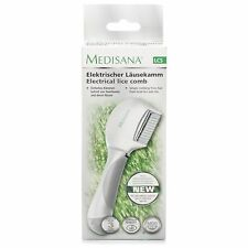 Medisana electrical Head Lice Comb Nits Battery Operated Kids Pets Dogs Cats NEW