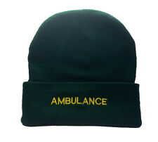 Ambulance Green Woolly Hat Paramedic St Johns Medic  First Responder