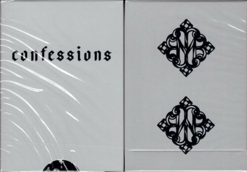Confessions Playing Cards Poker Size Deck USPCC ellusionist Madison Limited New