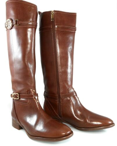 8fc3bc9bd718 2 of 10 NIB TORY BURCH CALISTA LOGO TALL RIDING KNEE HIGH BUCKLED BOOTS  Women s 11 41