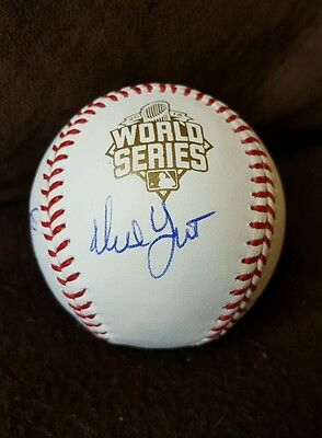 Autographs-original Frugal 2015 Kansas City Royals Team Signed Autographed 2015 World Series Baseball W/coa Spare No Cost At Any Cost