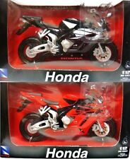 NEW RAY 1/12 2005 HONDA CBR1000R MOTORCYCLE BIKE SET OF 2 NEW 42387