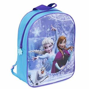 11576687d3 Image is loading Disney-Frozen-Backpack-Anna-Elsa-Olaf-Junior-School-