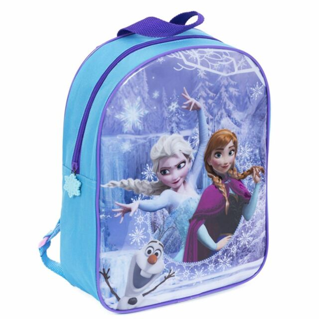 3ec530a3419 Disney Frozen Backpack Anna Elsa Olaf Junior School Bag Backpack Luggage  Travel
