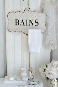 Details zu Handtuchstange Metallstange Handtuchhalter Badezimmer Shabby  Chic Vintage
