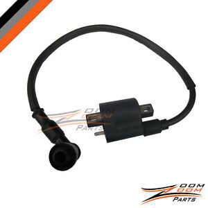 yamaha pw 50 pw50 ignition coil spark plug wire new 1981 2009 ebay rh ebay com Ford Ignition Coil Wiring Diagram 65 Mustang Coil Wiring