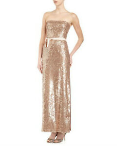 NEW-BCBG-MAX-AZRIA-LELA-SEQUINED-STRAPLESS-FJC6T537-L55-GOWN-SIZE-0