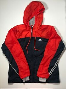 red nike windbreaker mens